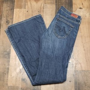 AG Jeans The Belle Flare Jeans Sz 28